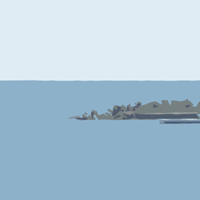 一の島堤防